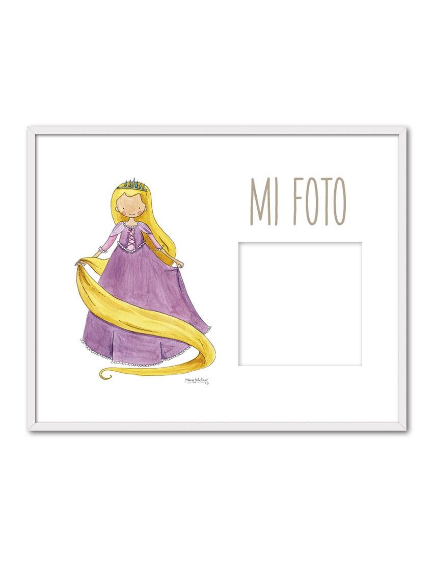 PORTAF RAPUN ENB min - Portafotos Princesas Rapunzel