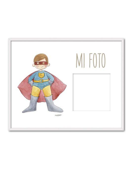 PORTAF SUPERMAN ENB min 535x696 - Portafoto Super Héroes Superman