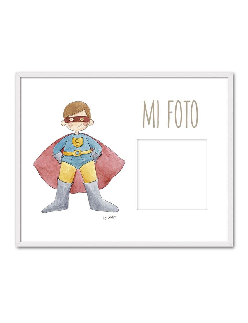 PORTAF SUPERMAN ENB min - Portafoto Super Héroes Superman