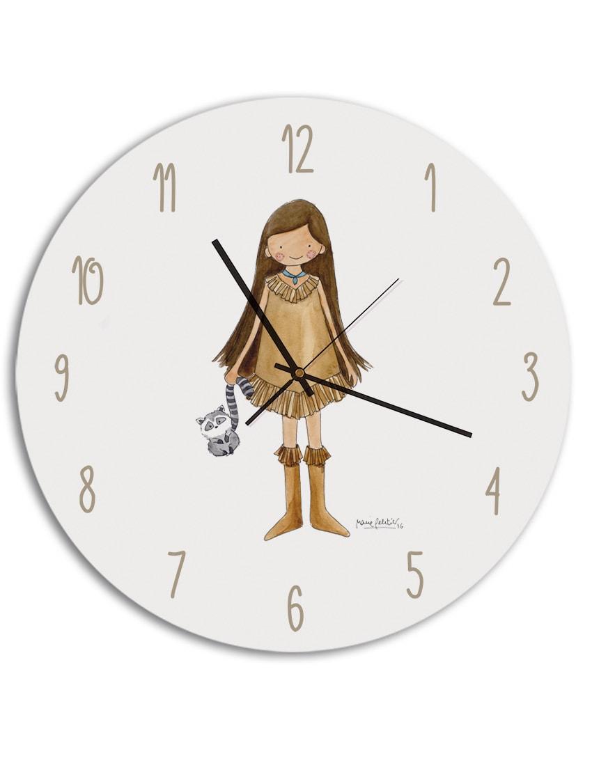 RELOJ POCAHONTAS min - Reloj Princesas Pocahontas