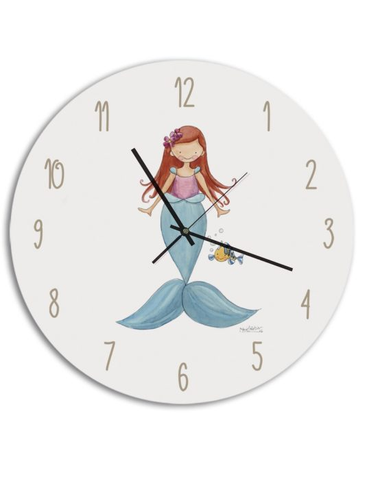 RELOJ SIRENITA min 535x696 - Reloj Princesas Sirenita