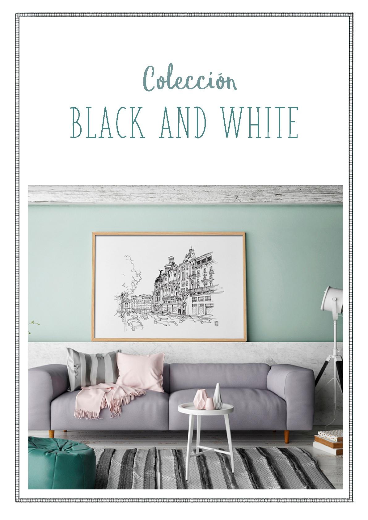 BLACK WHITE 001 - Black & White