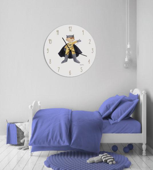 ambiente relojes infantiles niño 535x594 - Reloj Super Héroes Jack