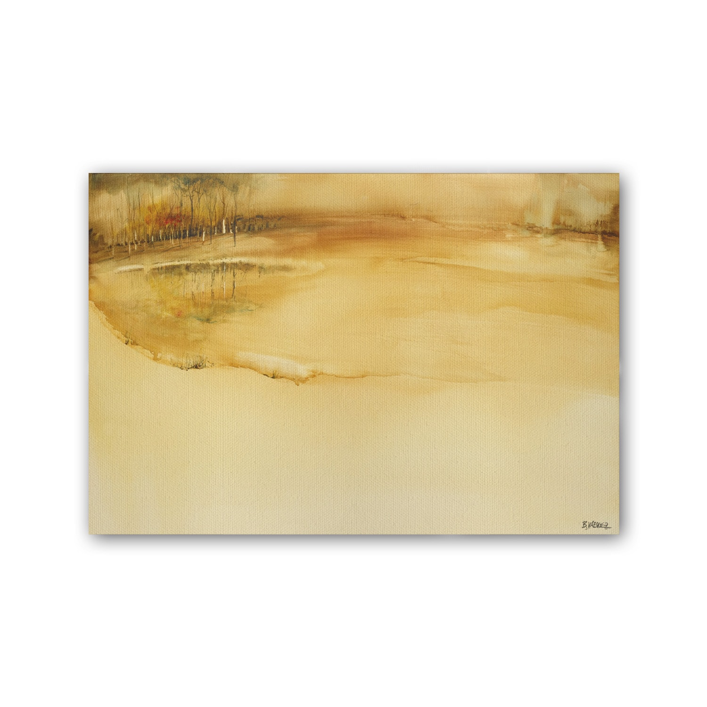 Cuadro lago dorado