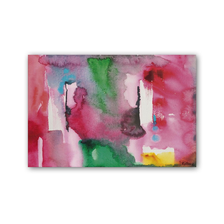 Cuadro Abstracto Magenta