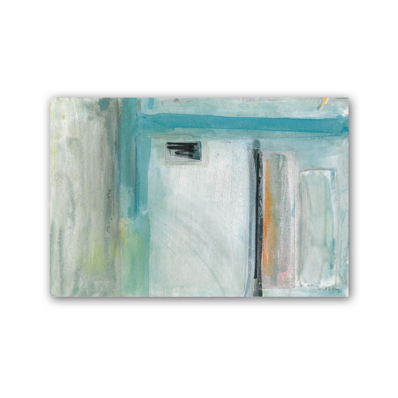 Cuadro abstracto Angulo y Horizonte