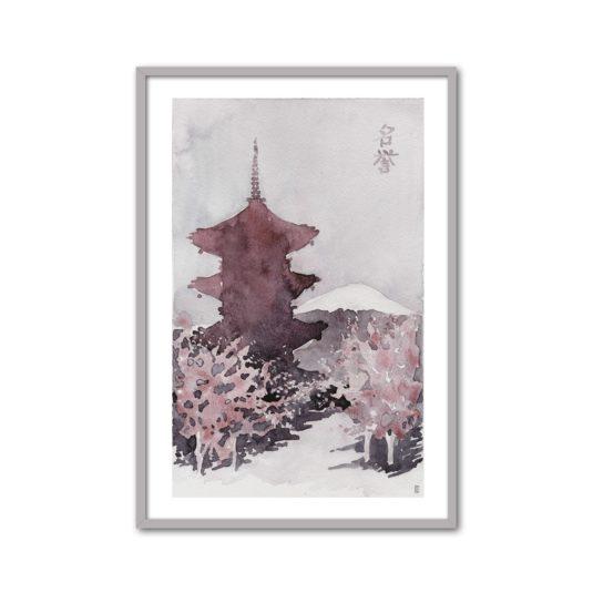 Cuadro pagoda I