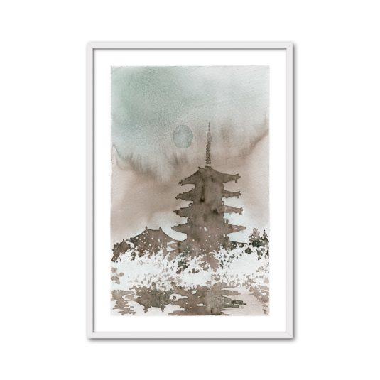 Cuadro Pagoda II