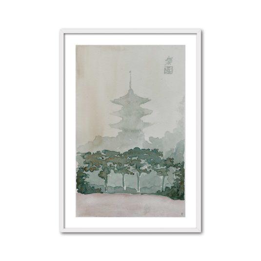 Cuadro Pagoda III