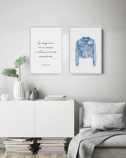 Imagen de Ambiente con chaqueta vaquera