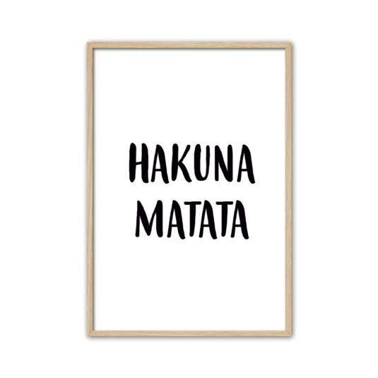 Cuadro Hakuna Matata