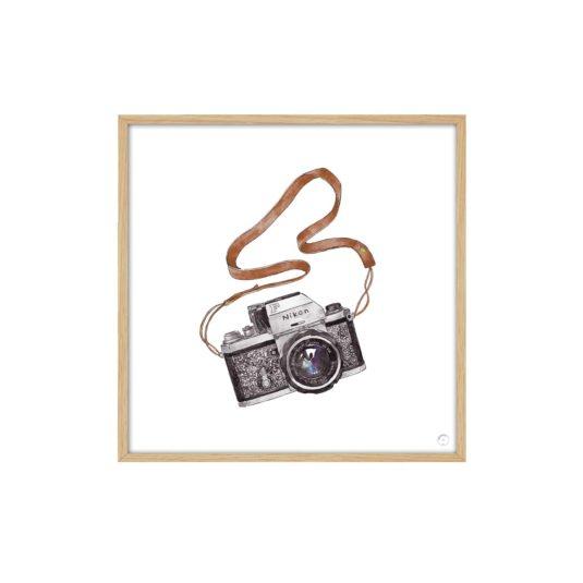 Cuadro Cámara de fotos, nikon