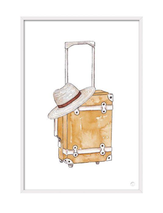 Cuadro Luggage