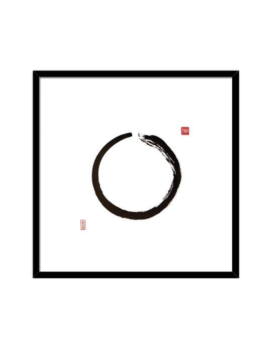 BR164 CIRCLE BLACK min 535x696 - Geisha Sentada