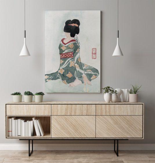 Geisha Sentada CE334